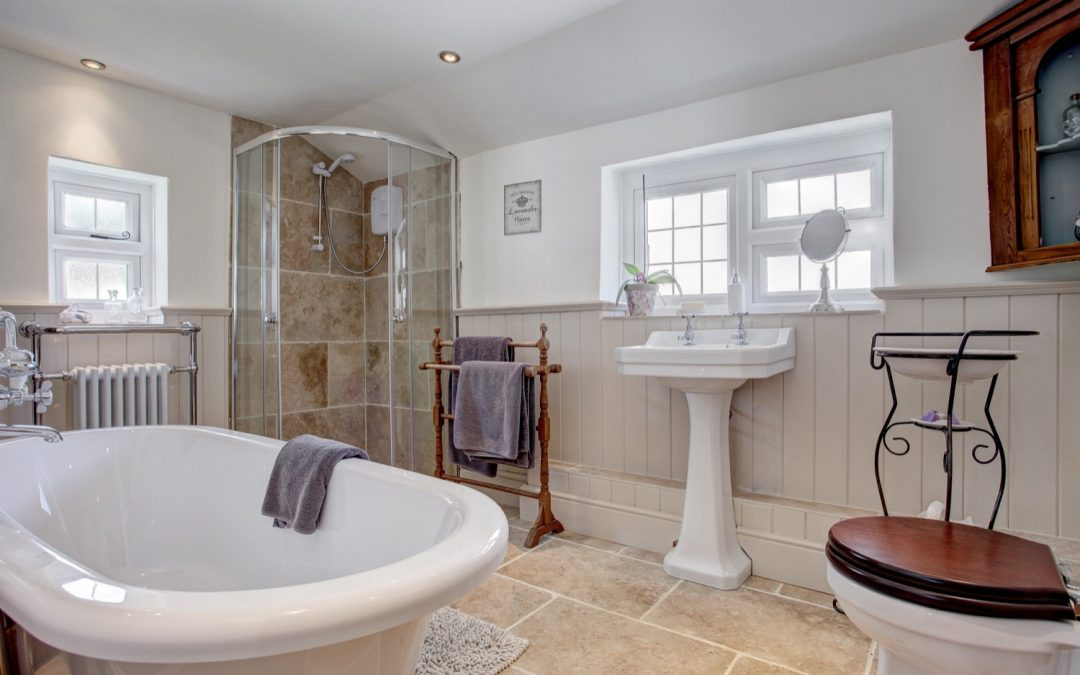 The Bathroom – a place to unwind….